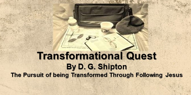 Transformational Quest – by D.G. Shipton